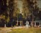 Printemps au Parc Josaphat -1957<br>Moortgat, Gérard