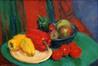 Quelques poivrons et fruits<br>Hoebeke, Maguy