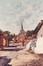 La rue des deux églises<br>Dhondt, Pieter
