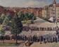 Square François Riga, jeu de balle-pelote<br>Stiellemans, Henri