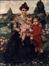 Madame Frédéric et ses enfants<br>Frédéric, Léon