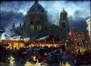 Kermesse Saint Corneille, le soir Place de la Reine<br>Herremans, Lievin