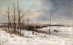 Chemin de fer, rue des Coteaux<br>Hill, Jean