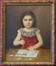 Lucette Van der Syp (fille du peintre schaerbeekois Armand Van der Syp)<br>Hickmann, Fritz