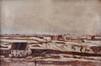 Vue de Schaerbeek, vers la voie ferrée<br>Paquez, Gustave