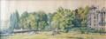Entrée Parc Josaphat, (Ingang Josaphatpark), 1919<br>Thelen, Eugène