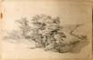 Arbre et paysage<br>Verboeckhoven, Eugène