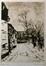 Chemin de l'Église - Evere<br>Blieck, Maurice Emile