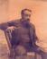 Portrait du peintre Alfred Verwée<br>Broerman, Eugène