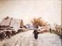 Village sous la neige<br>Verheyden, Isidore