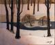 Hiver au parc de Woluwe (Winter in de WoluwePark)<br>Minsart, Maurice