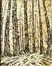 Forêt sous la neige<br>Chevalier, Marcel-Ghislain