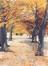 Le parc Josaphat à Schaerbeek en automne<br>Froment, Guy