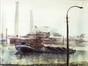 La péniche à charbon<br>Van Langenhove, A.