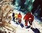 Ski de fond en Ardenne (Langlaufen in de Ardennen)<br>Hell, Jeanine