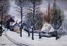 Maison sous la neige<br>Janssens, L.