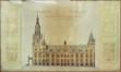 Wederopbouw en uitbreiding van het Stadhuis<br>Van Ysendyck, Jules Jacques ; Van Ysendyck