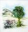 L'âne sous l'arbre dentellé<br>Bruylandt, Gisèle