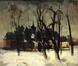 Paysage neige<br>Moortgat, Gérard