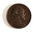 Médaille:  portrait d'Elie Aristide Astruc, grand rabbin de Belgique, co-fondateur de « l'Alliance Israélite Universelle », 1880, gravé par Charles Wiener<br>