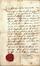 Document Laissez-passer du 18ème siècle accordé à Lazare Simon dit  Somerhausen