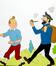 Tintin Dans Le Metro<br>Hergé,  / Studio Hergé,