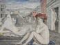 Femmes nues ou paysage antique<br>Delvaux, Paul