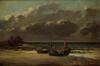 Marine - temps d'orage<br>Courbet, Gustave