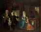 Le peintre dans son atelier<br>Troost, Cornelius