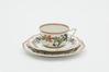 Service à café à décor de fleurs<br>A. Lanternier & Co.,