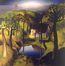 Le message au milieu d'un paysage<br>Van de Woestijne,  Gustave