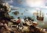 La chute d'Icare<br>Bruegel, Pieter / Bruegel,  Pieter I