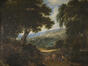 Paysage figé sur la fuite en Egypte<br>Coppens,  Frans