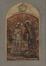 Projet de vitrail, Baptême du Christ<br>Crespin,  Louis-Charles