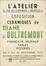 Affiche de l'exposition 'Céramiques de Diane d'Oultremont'<br>Stofs,  F.