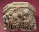Cinq corbeaux du porche de l'Hôtel de Ville<br>Maître du retable de Hakendover et atelier,