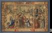 Légende de Notre-Dame du Sablon : la statue de Notre-Dame est conduite à l'église du Sablon<br>Anonyme,  / van Orley, Bernard