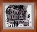 La rue aux Laines le 7 avril 1950 et les grilles du Palais de Justice