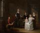 Portrait de Monsieur Buelens et sa famille<br>Verhulst, Charles-Pierre