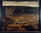 L'infante Isabelle dans la procession de Notre Dame de Laeken - 4 juin 1622<br>Vander Horst, Nicolas