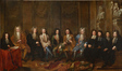 Le Conseil de la Gilde Drapière en 1699<br>Van Orley, Jean