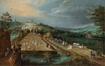 Vue de Bruxelles à partir des terrasses du château de Rivieren à Ganshoren<br>Brueghel, Jan