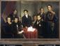 Portrait des neufs membres du Gouvernement provisoire de 1830<br>Picqué, Charles-Louis dit Carlo