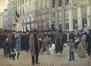 Le marché aux chiens sur la Grand-Place<br>Van Gelder, Eugène