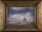 Marine - bateau naviguant sur la mer<br>Artan de Saint-Martin, Louis