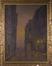 Karel Bulsstraat bij nacht, circa 1900<br>Dubois, Jules