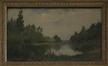 Passage d'eau au Petit Marly, ancien lieu-dit sur la rive gauche du canal de Willebroeck à Neder-Over-Heembeek<br>Crepin, Louis Désiré J.