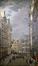 Marché aux fleurs à la Grand-Place, vu depuis la rue de la Tête d'Or<br>Walckiers, Gustave