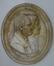 Médaillon : Portait de J.B. Geinaert et Colette De Jagher, parents du sculpteur<br>Geirnaert, Edouard