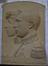 Bas-relief du couple royal Albert I et Elisabeth